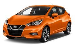 Nissan Micra Tekna Kleinwagen (2016 - heute) 5 Türen seitlich vorne