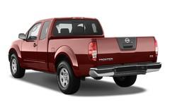 Nissan Navara SE King Cab Pritsche (2005 - 2015) 4 Türen seitlich hinten