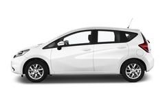 Nissan Note Acenta Van (2013 - heute) 5 Türen Seitenansicht