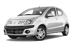 Nissan Pixo Visia Kleinwagen (2009 - 2013) 5 Türen seitlich vorne mit Felge