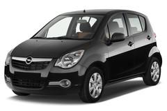 Opel Agila Edition Kleinwagen (2007 - 2014) 5 Türen seitlich vorne