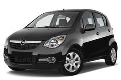 Opel Agila Edition Kleinwagen (2007 - 2014) 5 Türen seitlich vorne mit Felge