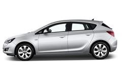 Opel Astra INNOVATION Kompaktklasse (2009 - 2015) 5 Türen Seitenansicht