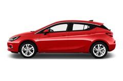 Opel Astra Dynamic Kompaktklasse (2015 - heute) 5 Türen Seitenansicht