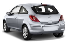 Opel Corsa Selection Kleinwagen (2006 - 2014) 3 Türen seitlich hinten