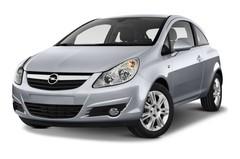 Opel Corsa Selection Kleinwagen (2006 - 2014) 3 Türen seitlich vorne mit Felge