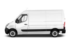 Opel Movano - Transporter (2010 - heute) 4 Türen Seitenansicht
