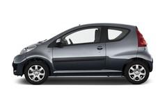 Peugeot 107 Filou Kleinwagen (2005 - 2014) 3 Türen Seitenansicht