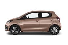 Peugeot 108 Allure Kleinwagen (2014 - heute) 5 Türen Seitenansicht