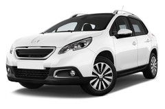 Peugeot 2008 Active SUV (2013 - heute) 5 Türen seitlich vorne mit Felge