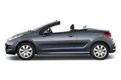 Peugeot 207 Premium Cabrio (2006 - heute) 2 Türen Seitenansicht