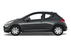 Peugeot 207 Filou Kleinwagen (2006 - heute) 3 Türen Seitenansicht