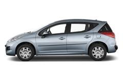 Peugeot 207 Premium Kombi (2006 - 2013) 5 Türen Seitenansicht