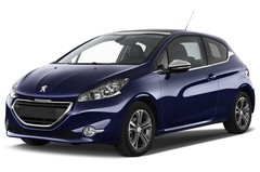Peugeot 208 Allure Kleinwagen (2012 - heute) 3 Türen seitlich vorne