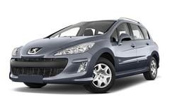 Peugeot 308 Platinum Kombi (2008 - 2014) 5 Türen seitlich vorne mit Felge