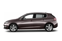 Peugeot 308 Allure Kompaktklasse (2014 - heute) 5 Türen Seitenansicht