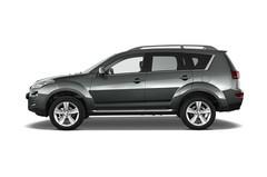 Peugeot 4007 - SUV (2007 - 2012) 5 Türen Seitenansicht