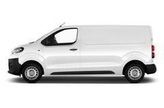 Peugeot Expert Premium Transporter (2016 - heute) 4 Türen Seitenansicht