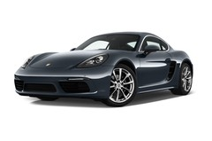 Porsche Cayman - Coupé (2016 - heute) 3 Türen seitlich vorne mit Felge
