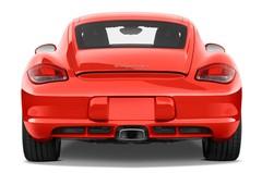 Porsche Cayman - Coupé (2005 - 2013) 3 Türen Heckansicht