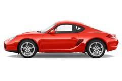 Porsche Cayman - Coupé (2005 - 2013) 3 Türen Seitenansicht