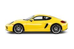 Porsche Cayman - Coupé (2013 - 2016) 3 Türen Seitenansicht