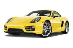 Porsche Cayman - Coupé (2013 - 2016) 3 Türen seitlich vorne mit Felge