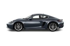 Porsche Cayman - Coupé (2016 - heute) 3 Türen Seitenansicht