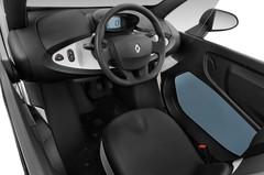 Renault Twizy Technic Kleinwagen (2012 - heute) 3 Türen Cockpit und Innenraum