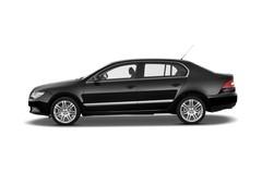 Skoda Superb Elegance Limousine (2008 - 2015) 4 Türen Seitenansicht