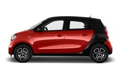 Smart ForFour Prime Kleinwagen (2014 - heute) 5 Türen Seitenansicht