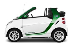 Smart ForTwo Electric Drive Cabrio (2007 - 2014) 2 Türen Seitenansicht