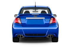 Subaru Impreza WRX STI Limousine (2007 - 2011) 4 Türen Heckansicht