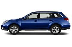 Subaru Outback Comfort Kombi (2009 - 2014) 5 Türen Seitenansicht