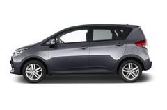 Subaru Trezia Comfort Kombi (2011 - 2014) 5 Türen Seitenansicht