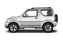 Suzuki Jimny Comfort SUV (1998 - heute) 3 Türen Seitenansicht
