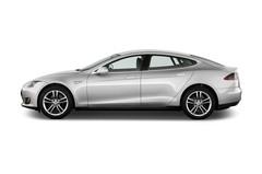 Tesla Model S S Limousine (2009 - heute) 5 Türen Seitenansicht