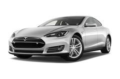 Tesla Model S S Limousine (2009 - heute) 5 Türen seitlich vorne mit Felge
