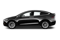 Tesla Model X 75D SUV (2015 - heute) 5 Türen Seitenansicht