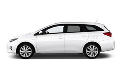 Toyota Auris Executive Kombi (2013 - heute) 5 Türen Seitenansicht