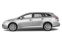 Toyota Avensis Executive Kombi (2009 - 2015) 5 Türen Seitenansicht