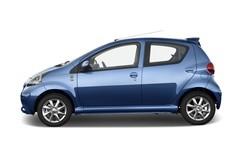 Toyota Aygo + Kleinwagen (2005 - 2014) 5 Türen Seitenansicht