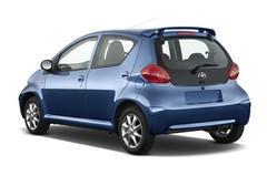 Toyota Aygo + Kleinwagen (2005 - 2014) 5 Türen seitlich hinten