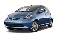 Toyota Aygo + Kleinwagen (2005 - 2014) 5 Türen seitlich vorne mit Felge