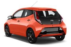 Toyota Aygo X-Cite 2WD MT Kleinwagen (2014 - heute) 5 Türen seitlich hinten