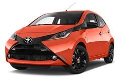 Toyota Aygo X-Cite 2WD MT Kleinwagen (2014 - heute) 5 Türen seitlich vorne mit Felge