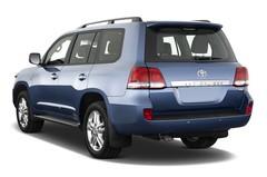 Toyota Land Cruiser Executive SUV (2008 - 2012) 5 Türen seitlich hinten