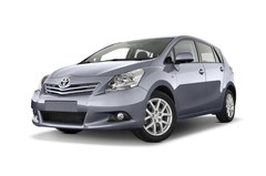 Toyota Verso Executive Van (2009 - heute) 5 Türen seitlich vorne mit Felge