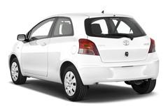 Toyota Yaris Cool Kleinwagen (2005 - 2011) 3 Türen seitlich hinten