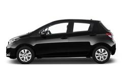 Toyota Yaris Life Kleinwagen (2011 - heute) 5 Türen Seitenansicht